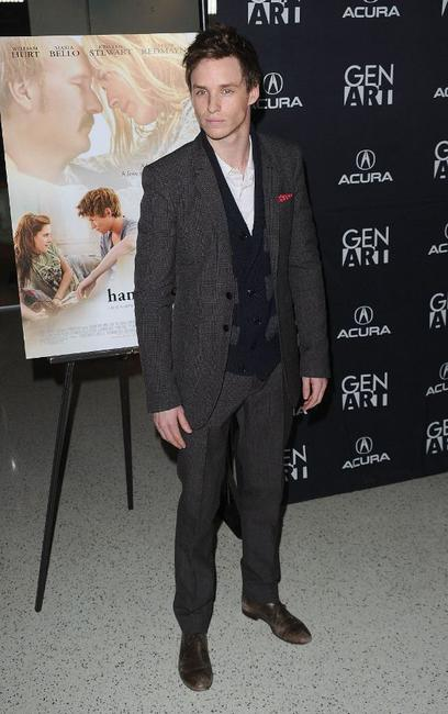 Eddie Redmayne at the California premiere of