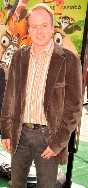 Tom McGrath at the premiere of
