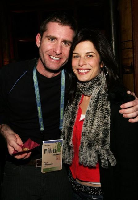 Paul Fitzgerald and Susan Floyd at the Gersh Agency party during the Sundance Film Festival.
