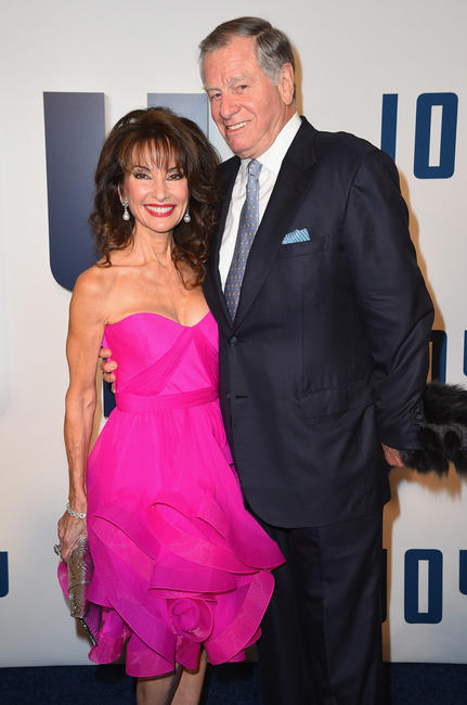 Susan Lucci and Helmut Huber at the New York premiere of