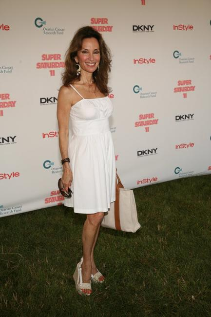 Susan Lucci at the Ovarian Cancer Research Fund's Super Saturday 11 benefit hosted by Donna Karan.
