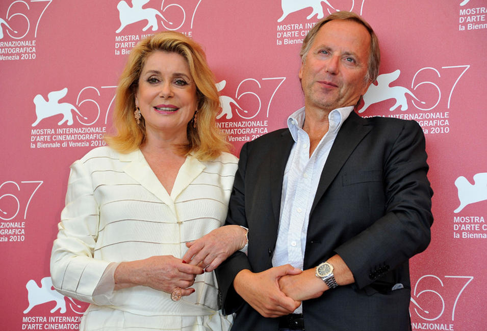 Catherine Deneuve and Fabrice Luchini at the photocall of