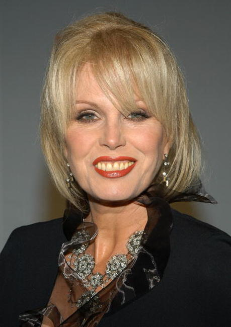 Joanna Lumley at the 31st International Emmy Awards Gala.