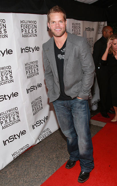 Wes Chatham at the In Style Magazine and The Hollywood Foreign Press Association Toronto International Film Festival party.