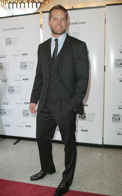 Wes Chatham at the premiere of