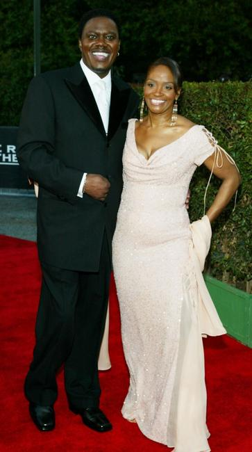 Bernie Mac and his wife Rhonda at the 35th Annual NAACP Image Awards.