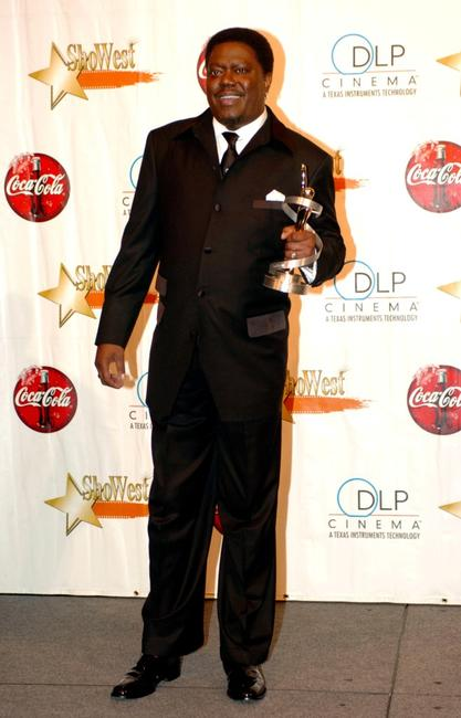 Bernie Mac at the ShoWest Award Ceremony.