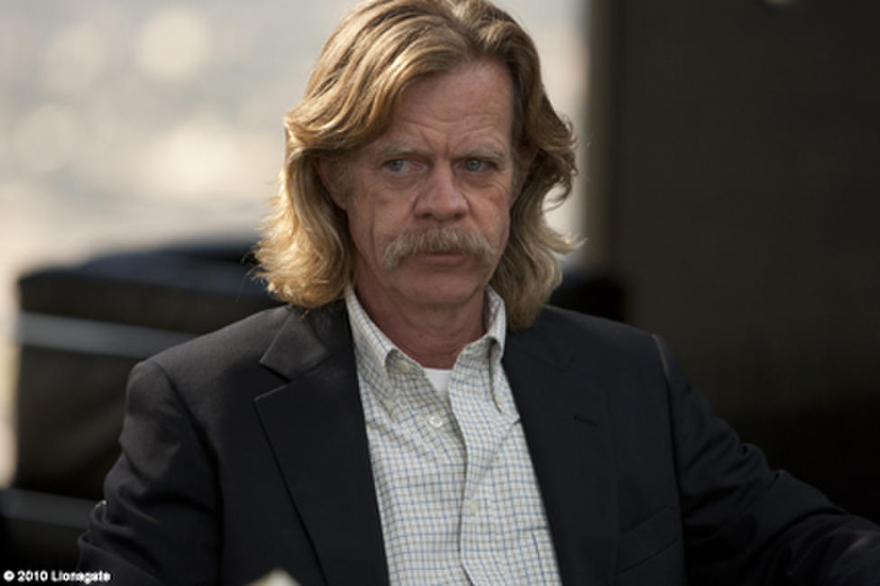 William H. Macy as Frank Levin in ``The Lincoln Lawyer.''