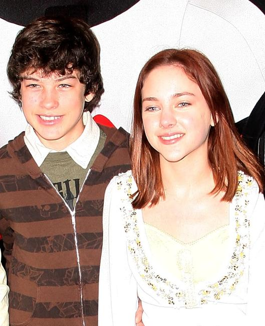 Graham Phillips and Haley Ramm at the UK premiere of