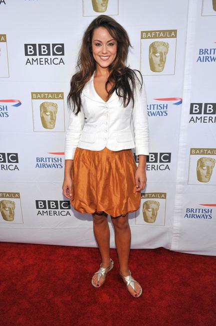 Katy Mixon at the BAFTA LA's 2009 Primetime Emmy Awards TV tea party.