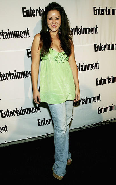 Katy Mixon at the TIFF Entertainment Weekly/Endeavor party.