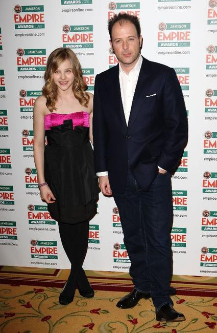 Chloe Grace Moretz and Matthew Vaughan at the Jameson Empire Film Awards 2010.