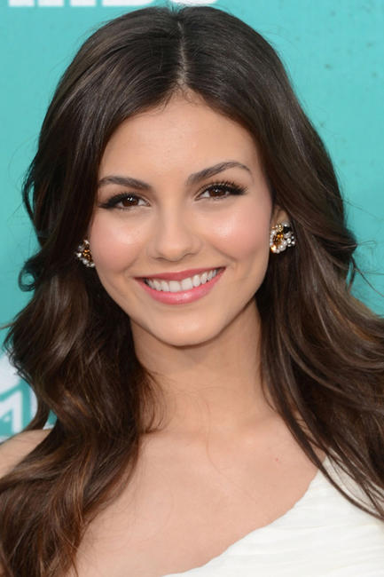 Victoria Justice at the 2012 MTV Movie Awards in California.