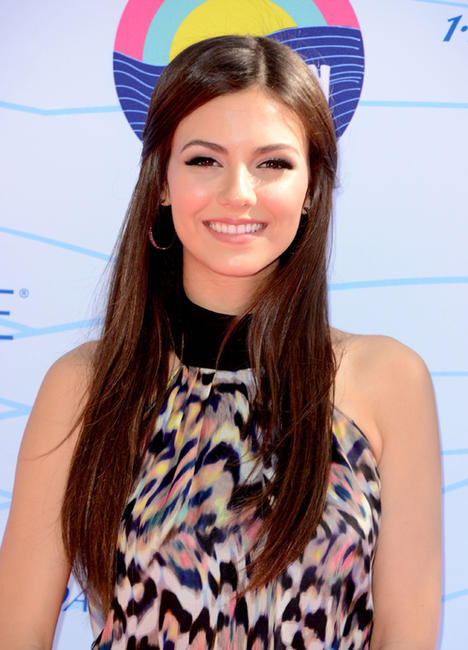 Victoria Justice at the 2012 Teen Choice Awards in California.