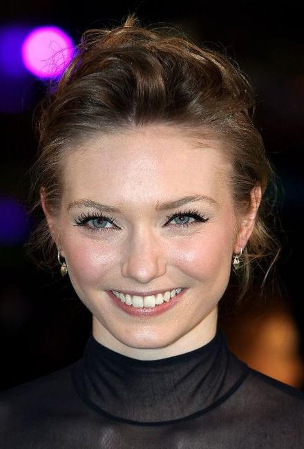 Eleanor Tomlinson at the Royal world premiere of
