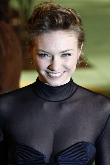 Eleanor Tomlinson at the world premiere of