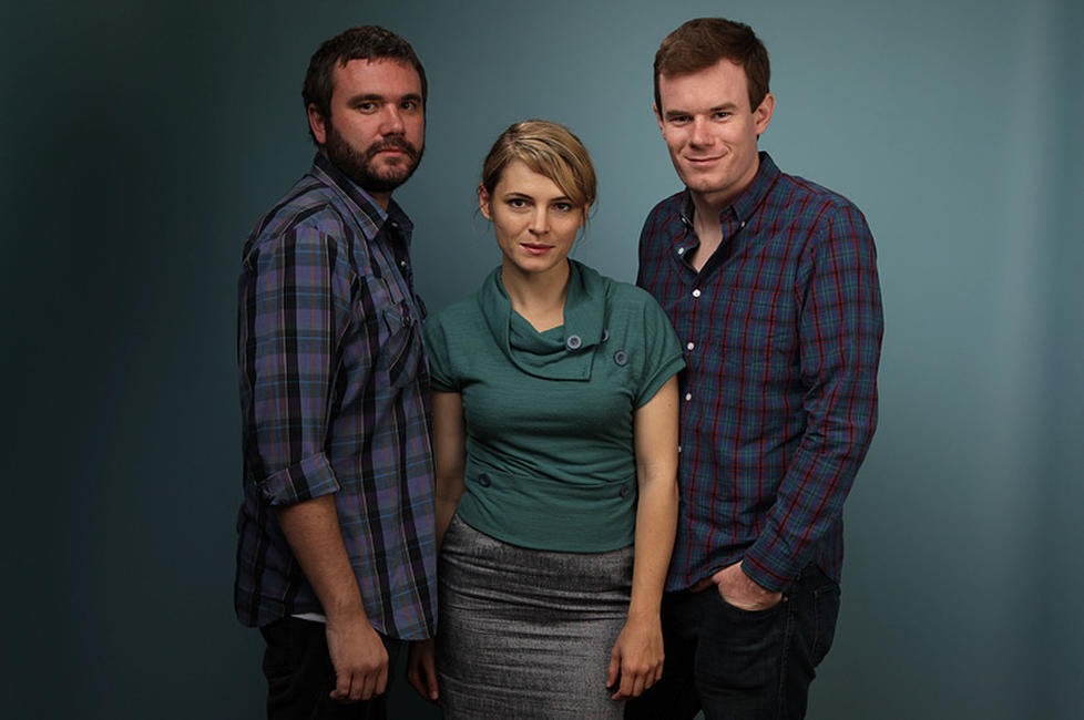 AJ Bowan, Amy Seimetz and Joe Swanberg at the 2010 Toronto International Film Festival.