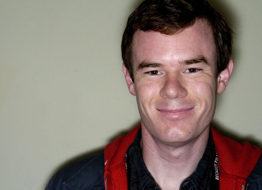 Joe Swanberg at the BFI Film Makers Breakfast during the London Film Festival.