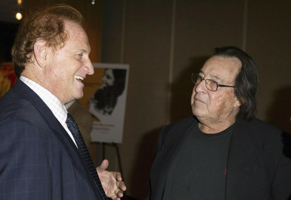 Paul Mazursky and Mike Medavoy at the Academy of Motion Picture Arts and Sciences.