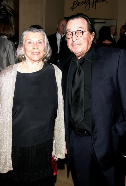 Paul Mazursky and wife Betsy at the 54th Annual ace Eddie Awards.