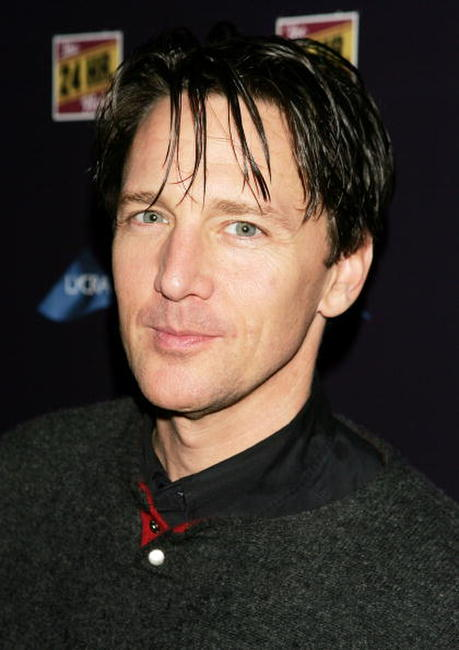 Andrew McCarthy poses for a photo during the after party for