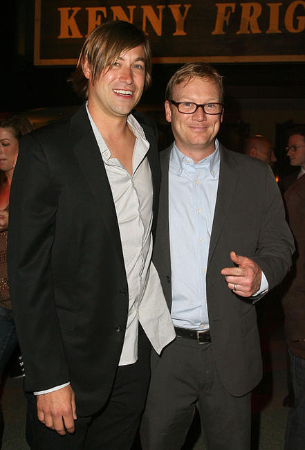 Jody Hill and Andrew Daly at the California premiere of