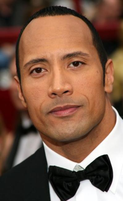 Dwayne Johnson at the 80th Annual Academy Awards.