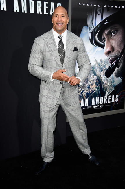 Dwayne Johnson at the California premiere of