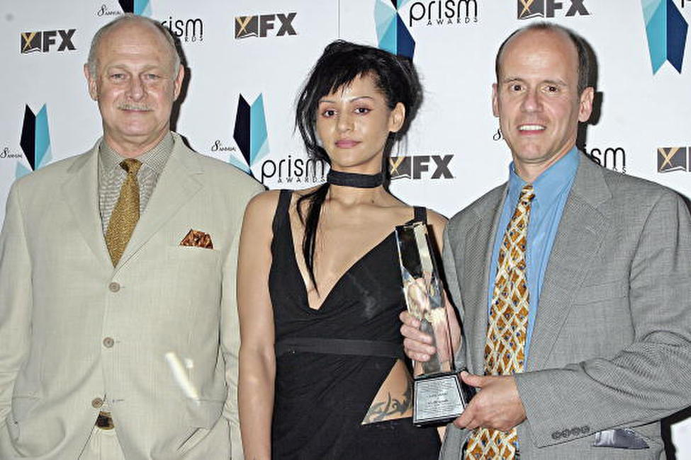 Gerald McRaney, Persia White and Mark Alton Brown at the 8th Annual PRISM Awards.