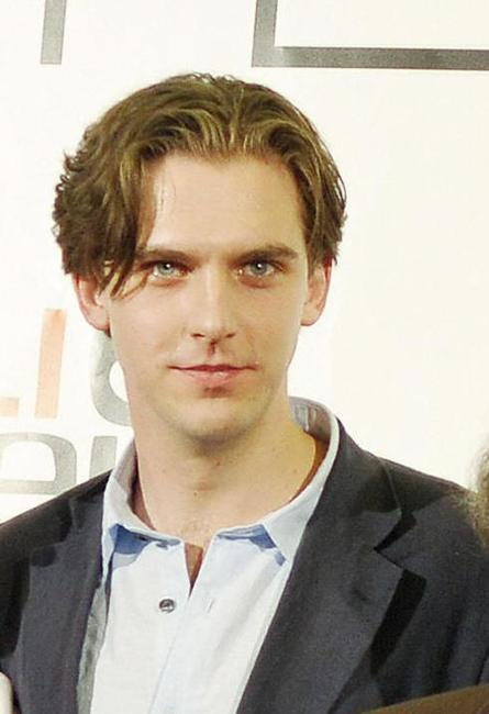 Dan Stevens at the shooting of