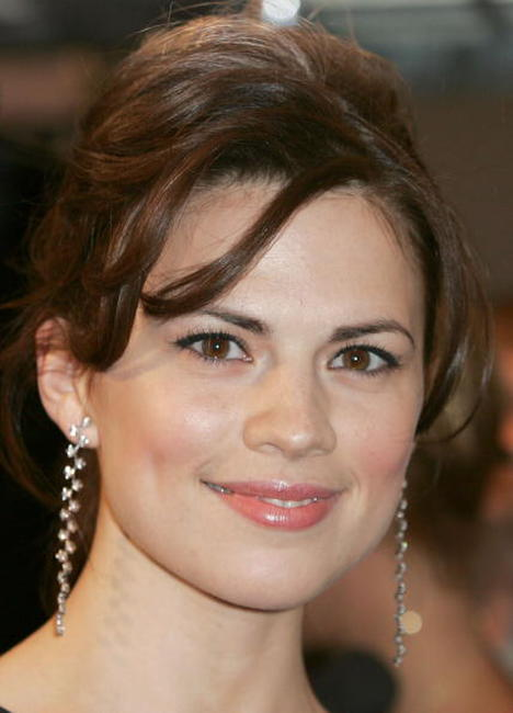 Actress Hayley Atwell at the
