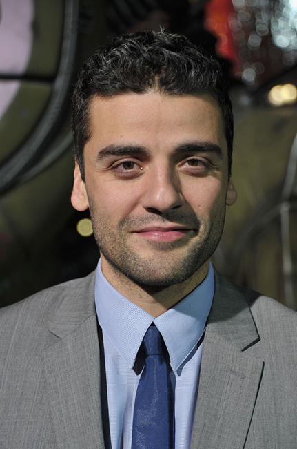 Oscar Isaac at the California premiere of