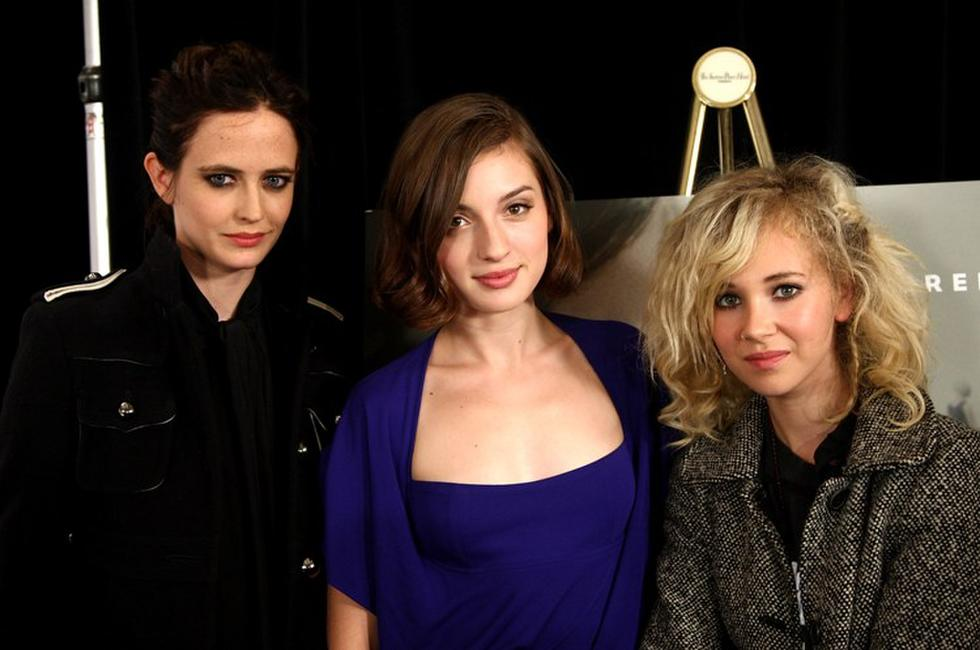Eva Green, Maria Valverde and Juno Temple at the press conference of