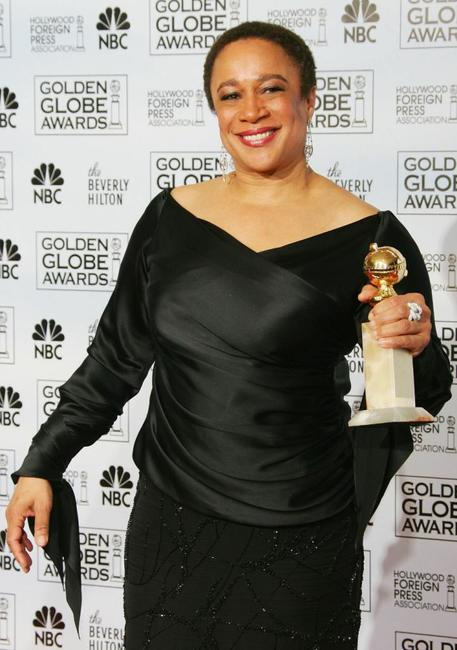 S. Epatha Merkerson at the Golden Globes Awards.
