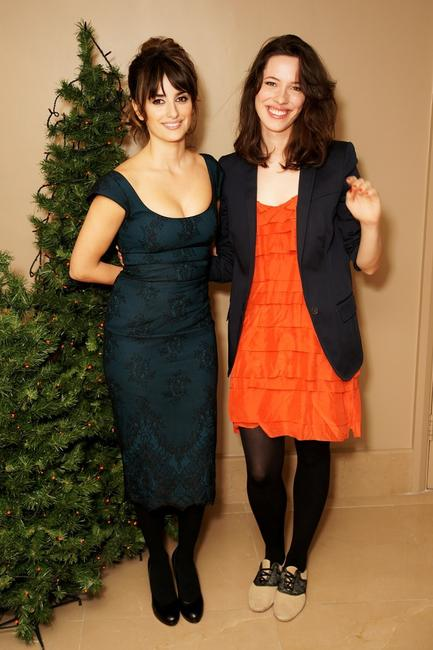 Penelope Cruz and Rebecca Hall at the screening of