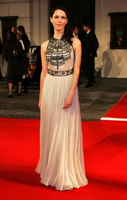 Rebecca Hall at the Orange British Academy Film Awards.
