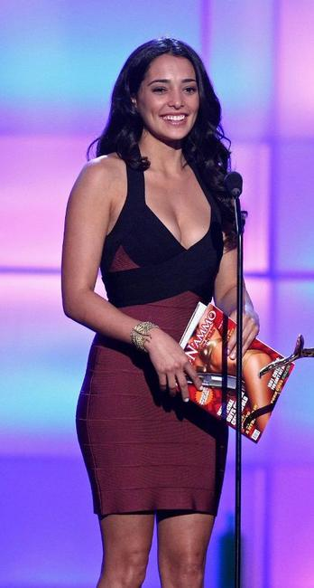 Natalie Martinez at the taping of Spike TV's 2nd Annual Guys Choice Awards.