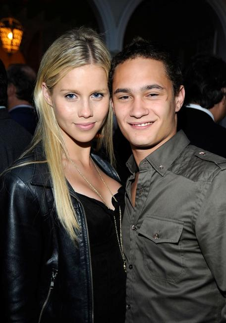 Claire Holt and Rafi Gavron at the Champagne Launch of BritWeek 2009.