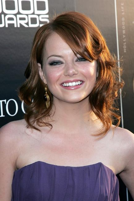Emma Stone at the Hollywood Life magazine's 10th Annual Young Hollywood Awards.