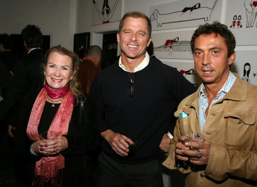 Juliet Mills, Maxwell Caulfield and Bruno Tonioli at the Ghettogloss Presents