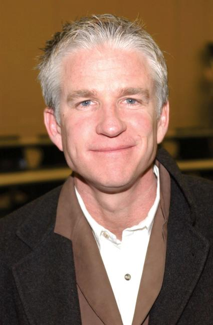 Matthew Modine at the reopening of the High School of Leadership and Public Service.