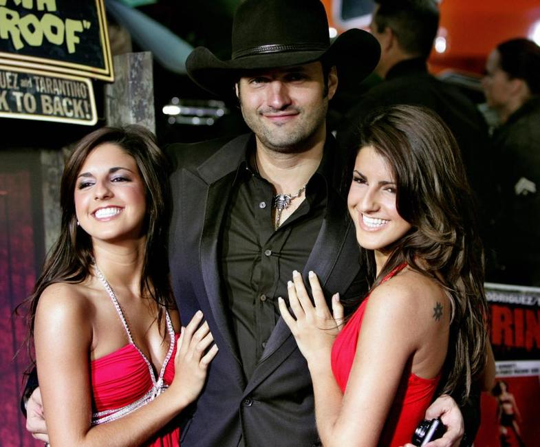 Electra Avellan, Director Robert Rodriguez and Elise Avellan at the premiere of