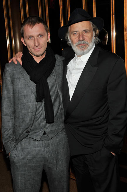 Goran Kostic and Rabe Serbedzija at the New York premiere of
