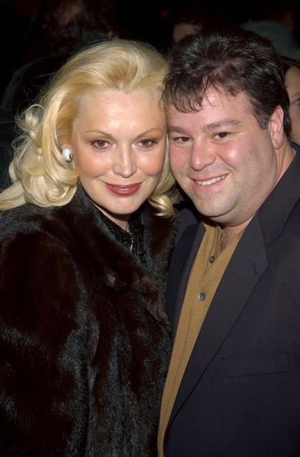 Cathy Moriarty and Joseph Gentile at the benefit premiere of