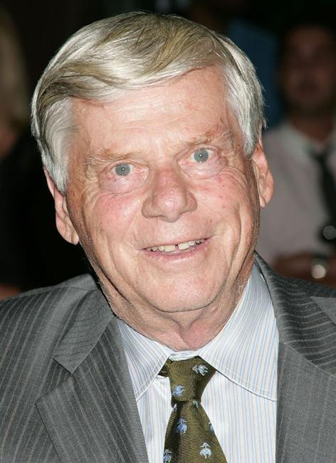 Robert Morse at the premiere of
