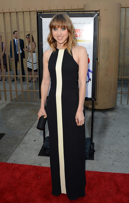Zoe Kazan at the California premiere of