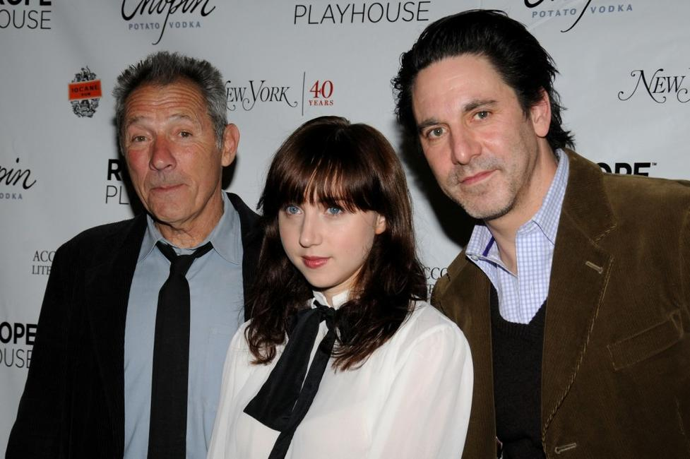 Israel Horovitz and Zoe Kazan and Scott Cohen at the Red Rope Playhouse presents