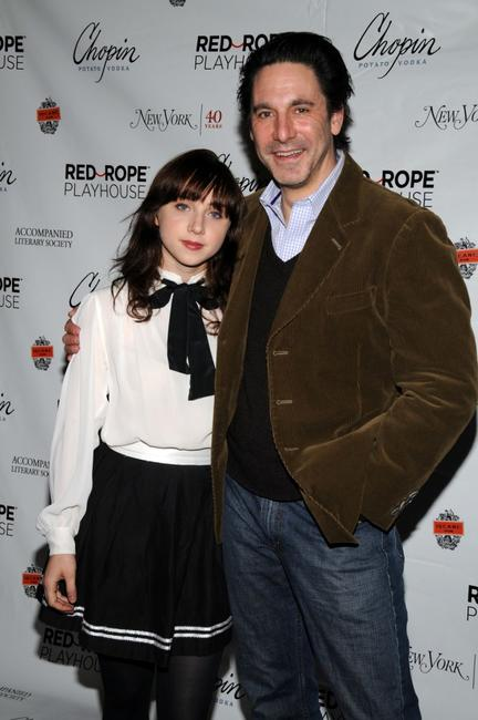 Zoe Kazan and Scott Cohen at the Red Rope Playhouse presents