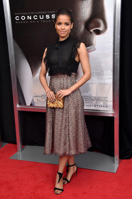 Gugu Mbatha-Raw at the New York premiere of