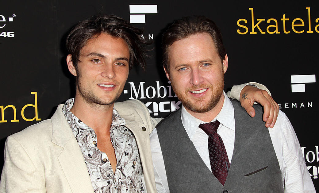 Shiloh Fernandez and A. J. Buckley at the California premiere of